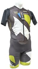 Garneau Team Triggerpoint Course Tri Short Slv Speedsuit Men XL Triathlon Race