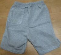 Men's Sweat Short Gray Casual Size Small 1 Back Pocket Cotton/Poly