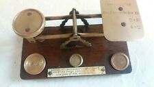 Antique Postal Scales , Postage Scales , ref 59E