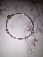 "Pandora Silver and 14K Gold Bracelet (590702HG-19) 7.5""-  CHRISTMAS SALE!!"
