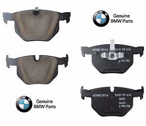 For BMW 330i 330xi 335d 335i 335xi Rear Brake Pad Set Genuine 34 21 6 775 678
