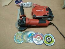 Hilti Wall Chaser -  Angle Grinder