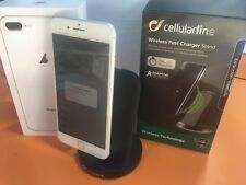 caricabatterie wireless per apple iphone 8 cellularline Ricarica Veloce