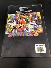 Manual Mario Party 3 Nintendo 64