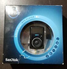 SanDisk Sansa Clip Black 8 GB Digital Media Player NEW SEALED SDMX11R FM MP3 NIB