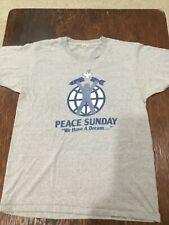 Vintage 1982 Peace Sunday Stevie Nicks Wonder Browne concert shirt Fleetwood Mac