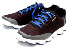 New ADIDAS CROSSFLEX Mens (SIZE- 9 MEDIUM) BLACK AND BLUE Golf SHOES Q47097