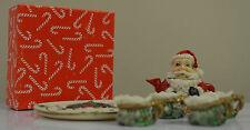 MINIATURE TEA SET  - CHRISTMAS THEME with BOX composite #www