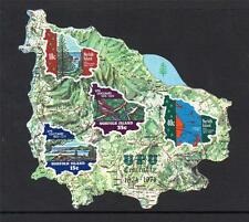 NORFOLK ISLAND USED 1974 MS162 CENTENARY OF UNIVERSAL POSTAL UNION MINISHEET