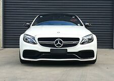 Mercedes-benz AMG C63 S Genuine Prefacelift Grille Genuine AMG badge W205 C205