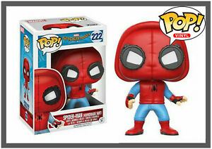 Funko Pop ! Vinyl Spiderman Homecoming - Homemade Suit #222