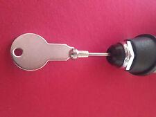 NOS Hirschmann Antenna/Aerial Key for Manual AM FM Retractable Mast Antenna