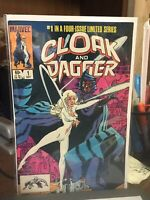 Cloak and Dagger #1 2. 3, 4 Set (Oct 1983, Marvel) Nm Never Read