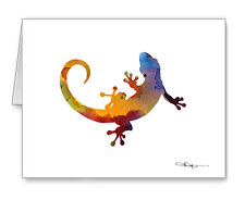 Gecko Note Cards With Envelopes