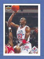 1991-92 Upper Deck MICHAEL JORDAN CHICAGO BULLS #48 GEM MINT & WELL CENTERED!