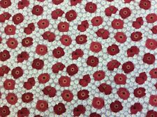 Lewis And Irene - Grandma's Garden Col:2 Flowers D#A197 100% Cotton By 1/4 Metre