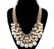 Handgefertigte runde Modeschmuck-Halsketten & -Anhänger aus Metall-Legierung
