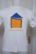 IBM T-shirt medium mens (UK) kapriche es white