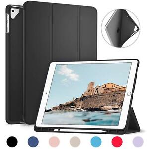 Ztotop Case For Ipad Pro 12.9 Inch 2017, 2015 Folding With Pencil Holder
