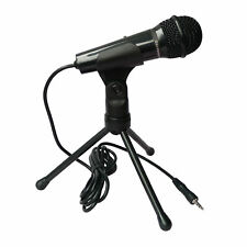 Condenser Sound Professional Microphone Mic +Stand Skype Youtube PC Laptop NEW
