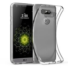 For LG G5 Case Silicone Cover Shockproof Ultra Slim Transparent Clear