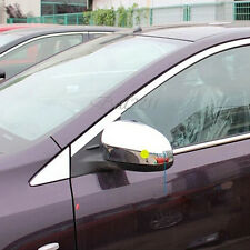 For Toyota Vios/Yaris Sedan 2013-2015 Chrome ABS Rearview Mirror Cover