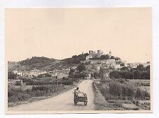 PHOTO ANCIENNE Châtillon sur Azergues Rhône Vue générale Château 1943 Charue
