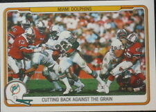 Serial Numbered Fleer Miami Dolphins Single Football Cards