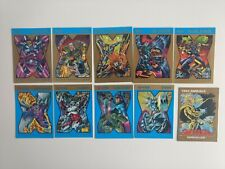Lot of Various Marvel DC trading cards Spider-Man X-Men Batman Wizard Chrome