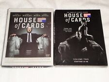 House of Cards Seasons 1-2, One & Two, DVD, Netflix, New & Sealed!