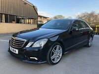 Mercedes E200 CDI AMG Sport Blue Efficiency 4dr Saloon 99P Start No Reserve