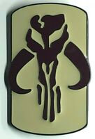 BOBA FETT Bounty Hunter Logo MANDALORIAN TV Series Large Metal Enamel Lapel Pin