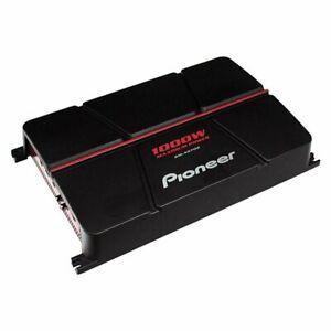 Pioneer 2-Channel Bridgeable Amplifier 1000 Watt Car Audio Amp Bass Boost New