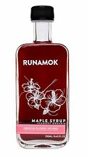 Runamok Maple - Hibiscus Flower-Infused Maple Syrup - Vermont Organic