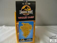 Pocket Map Guide - Jurassic Park Wallet Card; O.S.P. Publishing; NEW