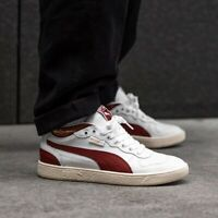 Puma Ralph Sampson Demi OG Off White Burnt Russet Red UK 8 US 9 Suede Basket OG