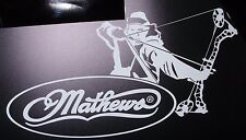 Mathews Archer decal featuring the Halon or 2 cam