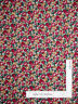 Garden Floral Gold Beige Berry Cream Flowers Cotton Fabric Springs By The Yard