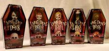 Living Dead Dolls SERIES 22 SET OF 5 MIB 2011 Mezco LDD Dawn of Dead Zombie Ava
