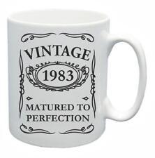 35° Novità Idea regalo compleanno Tazza da tè 1983 Matured to Perfection Caffè