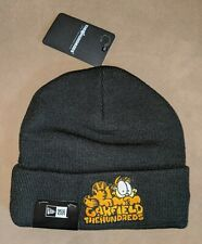 GARFIELD The Hundreds Black Winter Hat Cap Warm Alife Stussy Supreme New Era NWT