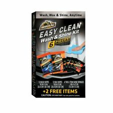 Armor All Easy Clean Wash & Shine Kit, 6 Pieces + 2 Free Items