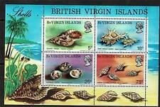 Br Virgin Is 1974 Seashells MS SG321 MNH