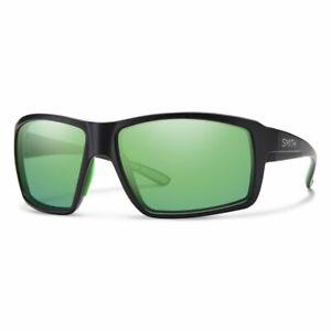 Smith FIRESIDE 0003 Z9 Matte Black/ Green Multi Polarized Lens Sunglasses New