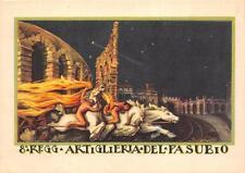 A9655) VERONA, 8 REGGIMENTO ARTIGLIERIA DEL PASUBIO. ILL SPIAZZI. FORMATO GRANDE