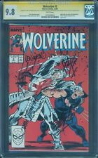 Wolverine 2 CGC SS 9.8 Stan Lee Romita Trimpe Wein Claremont 5X Signed 88 Top 1