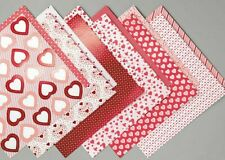 NEW Stampin Up FROM MY HEART Specialty DSP 12 sheets 6 x 6 Designer Series Paper