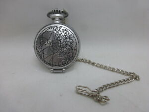 Doctor Who Tenth Doctor Fob Watch with Lights Sounds Chain Pocket Watch BBC 2007