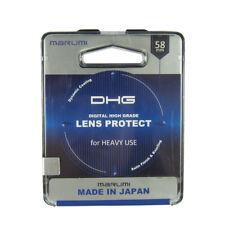 58mm - Marumi DHG Lens Protect Filter For Heavy Use Camera Digital High Grade