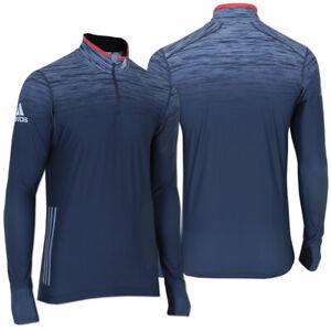 adidas Herren Race Top Langarm Laufshirt Gr.54 (L) Ski Langlauf Biathlon Shirt